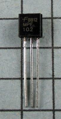 Mpf102 Fairchild Rf Mosfet N-channel Jfet To-92 5pcs Per Lot
