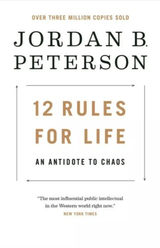 12 Rules for Life: An Antidote to Chaos by Jordan Peterson (2018, Digitaldown)