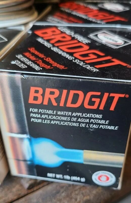 Bridgit Copper Solder one pound roll