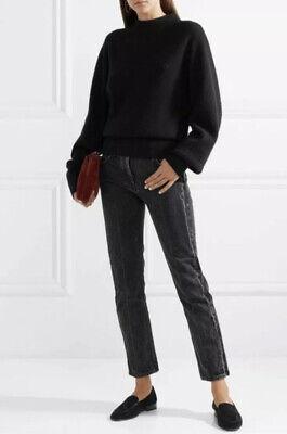 BRAND NEW RARE The Row Ashland Mid-Rise Anthracite Grey Denim Jeans Size (The Row Designer)