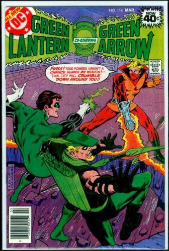 DC Comics GREEN LANTERN #114 Green Arrow VFN 8.0
