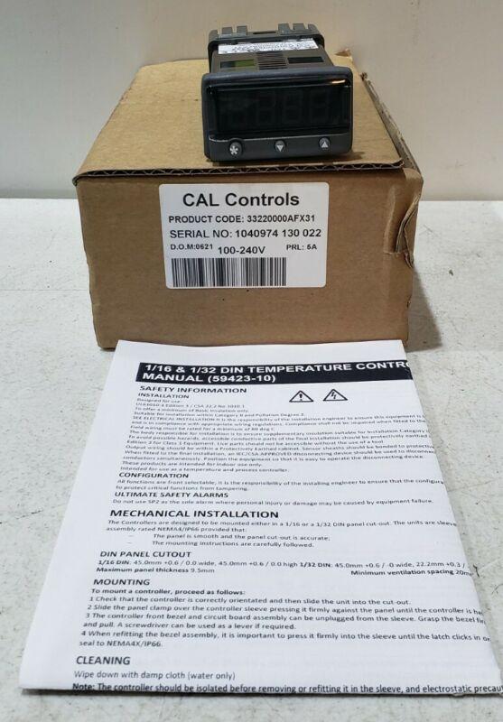 CAL Controls 3322 100-240V Temperature Controller