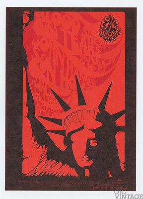 Family Dog 110 Libertie Postcard Blood Sweat & Tears John Handy 1968 Mar 15