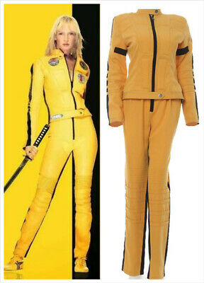 Kill Bill Cosplay Costumes Halloween  Killer the Bride Cosplay Fancy Outfits