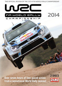 World Rally Review 2014 (WRC) DVD 2-disc