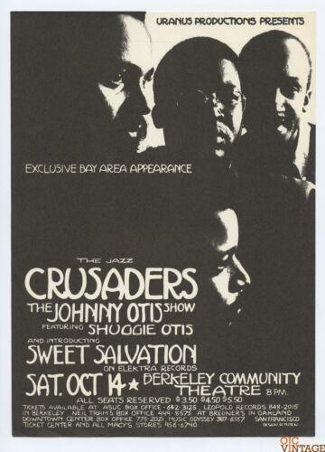The Crusader Handbill 1972 Oct 14 Berkeley Community Center