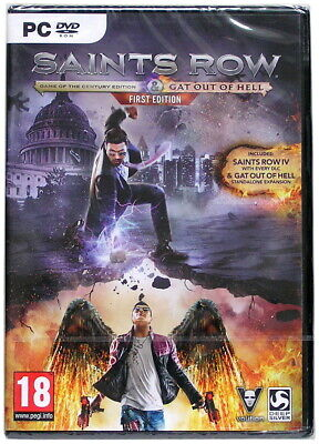 Saints Row IV 4: Game of the Century Edition & Gat out of Hell - PC DVD Game (Saints Row Iv Game Of The Century Edition)