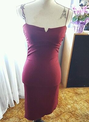 City Tria ♡ Women's ♡ Cranberry Glitter ♡ PARTY DRESS, EVENING, WEDDING ♡ Size S