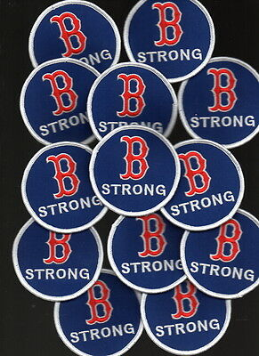 2018 Boston Red Sox B STRONG PATCH World Series Champions 2004 2007 2013 USA 2004 World Series Patch