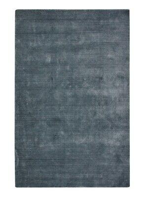 John Lewis & Partners Illume Soft Linen-Blend Rug L280 x W200 cm - (Teal) B+