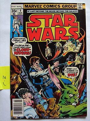 Star Wars comic book Marvel  #9 square  C-8 march 78 70's 80's vintage  816
