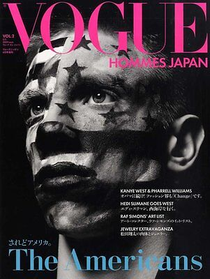 HEDI SLIMANE VOGUE HOMMES JAPAN MAGAZINE 04/2009 Photo Book Pharrell Williams