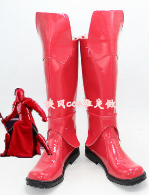 Hot! Star Wars Praetorian Guard Red Boots Cosplay Shoes costom Unisex Halloween ](Halloween Costom)