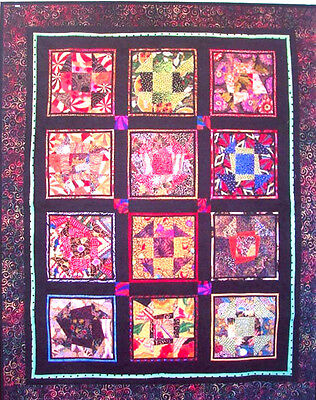 (Funky Joe fast easy fun block quilt pattern)