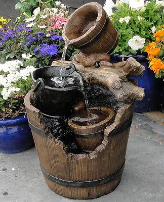 Ubbink Gartenbrunnen Wasserspiel Portland mit Pumpe, NEUWARE