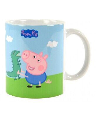 Peppa Pig Tasse Kaffeetasse George - Peppa Wutz Becher Mug Kinder Kaffeebecher