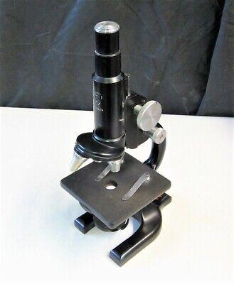 Vintage Ao Spencer Microscope W 10x 43x Objectives