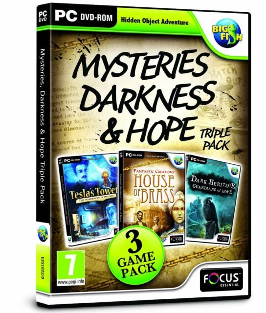 Mysteries, Darkness and Hope Triple Pack (PC DVD) BRAND NEW SEALED