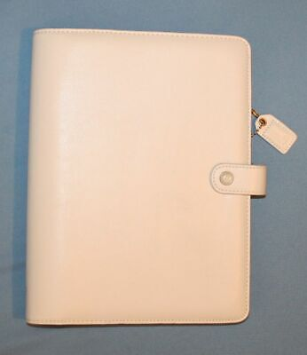 Websters Pages A5 Planner 6 Ring Binder White Gold W Weekly Pages Franklin