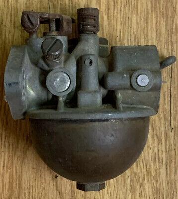 Carter Model N 689s Carburetor Vintage Reo Gas Engine 1950 Brass Round Bowl