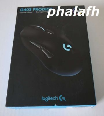 NEW Logitech G403 Prodigy Wired Gaming Mouse 910-004796 Sealed Retail Box
