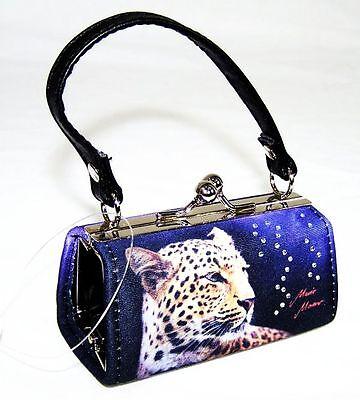 Mini Bags Night Leopard Katze Cat Mario Moreno Tasche Geldbörse Neu