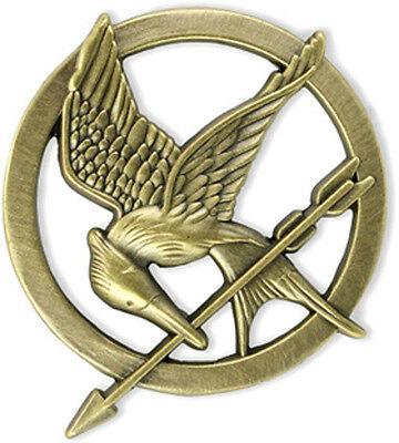Katniss Everdeen Mockingjay Pin - HUNGER GAMES Movie series promotional pin