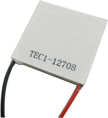 Tec1-12708 Thermoelectric Cooler Cooling Peltier Plate Module 4040mm