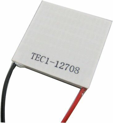 Tec1-12708 Heatsink Thermoelectric Cooler Cooling Peltier Plate Module 4040mm