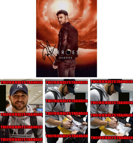 "RYAN GUZMAN signed Autographed ""HEROES REBORN"" 8X10 PHOTO - PROOF Sexy 9-1-1 COA"