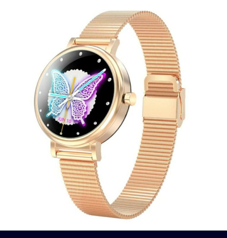Smart+Women+LW06+Fashion+Watch+Waterproof+IP68+for+Android+and+IOS+Gold