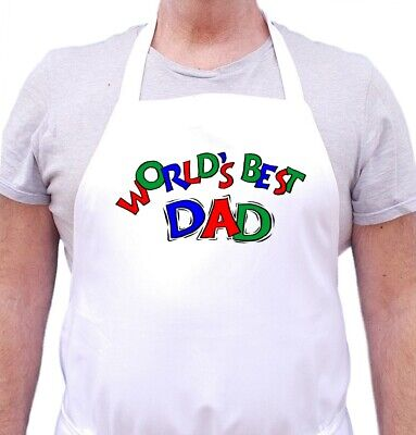 Kitchen Aprons for Men World's Best Dad Fathers Day Apron Ideas by (Best Daddy Aprons)