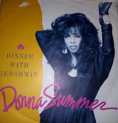 "Donna Summer 'Dinner with Gershwin' 7"" single"