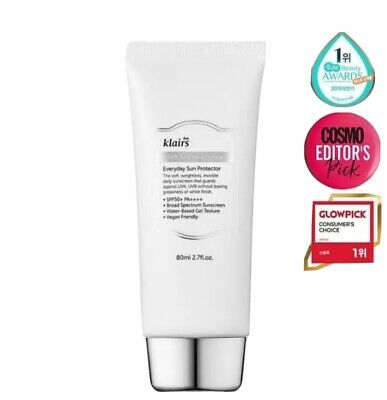 *UK SELLER*  Klairs Soft Airy UV Essence Sunscreen Gel - 80ml PA++++ Best