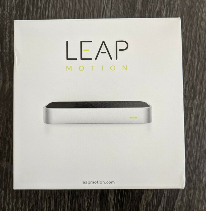 Leap Motion 3D Motion Gesture Controller LM-010 Original Version - See Box