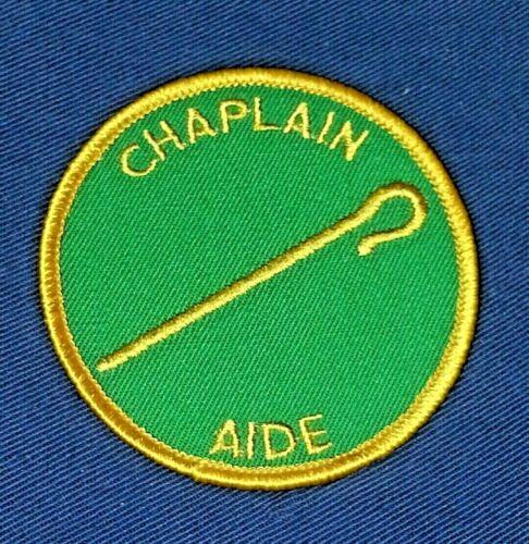 BOY SCOUT CHAPLAIN AIDE POSITION PATCH  (D1) 1976~1989   A01176