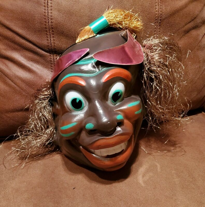 African Tribal Mask Halloween Vintage Party Jubilee Masquerade Ball Festival