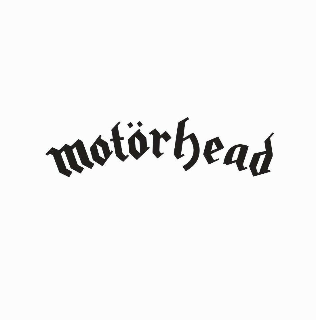 Home Decoration - Motorhead Music Band Vinyl Die Cut Car Decal Sticker-FREE SHIPPING