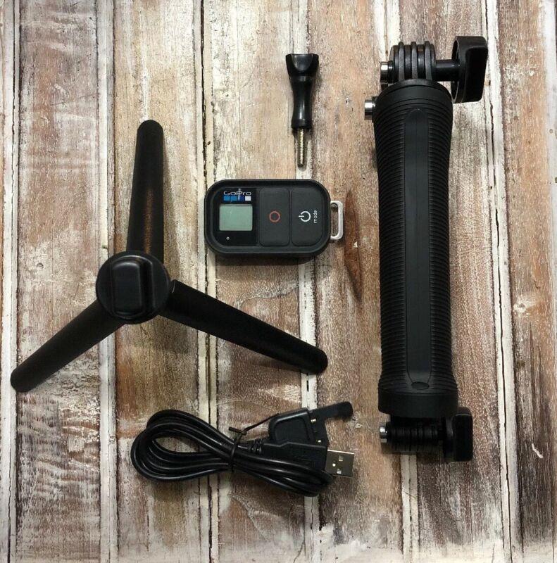 Bundle Genuine GoPro Remote plus Gemi 3-Way Arm Grip Tripod