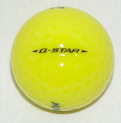 30 Srixon Q-star Yellow golf balls Grade AAAAA Best Srixon 5A balls LOT