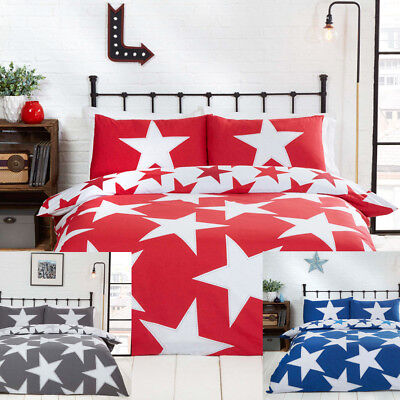 All Star Converse style Reversible Duvet Quilt Cover Bedding Set &