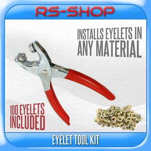 Eyelet-Pliers-Tool-Kit-Free-100-Brass-Eyelets-Hole-Makers-Leather-Craft