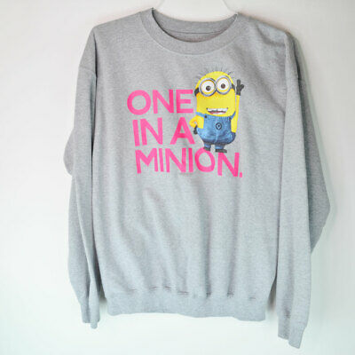 One In a Minion Despicable Me 2 Dave Funny Sweat Shirt Size Large - One In A Minion Shirt
