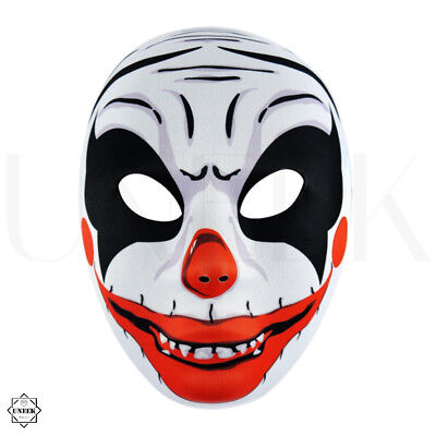 Scary Clown Full Head Mask - Halloween Pennywise Fancy Dress Costume Accessory