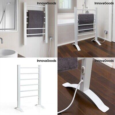Toallero electrico secador de toallas 6 barras,aluminio,50-55ºC,bajo consumo,90W