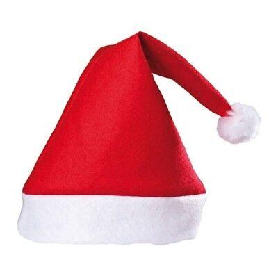 Weihnachtsmütze mit Bommel Nikolaus Rote Mütze Weihnachtsmann Weihnachtsmützen