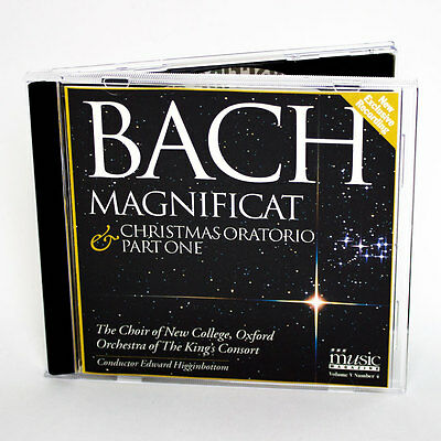BBC Bach Noël Oratorio Partie 1 Chorale De Neuf Collège,Oxford