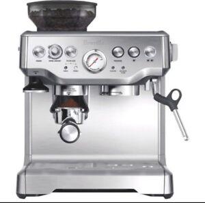used BREVILLE Barista Express Espresso Maker BREBES870XL