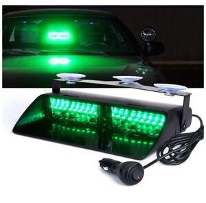 Volunteer Firefighter Green LED Strobe Light