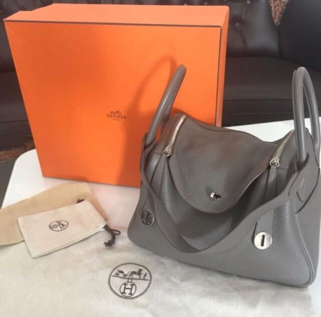 69f522a648d4 Authentic Hermes Lindy 30  R PHW